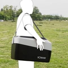 보만 차량 캠핑 낚시 대용량 휴대용 냉온장고 30L