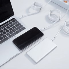 레드빈 마그네틱롤 선정리 USB C타입 고속충전 자석 마_(1599825)