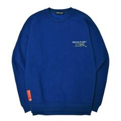 쿼드랑글 기모 스웨트셔츠 BLUE