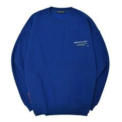 인 더 에어리어 기모 스웨트셔츠 BLUE