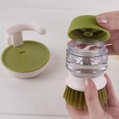 주방 자동세제 세척솔 청소솔