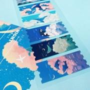 [몽스쮸] 꿈 속 티켓 씰 스티커