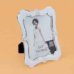 진주 엔틱 사진 액자(5x7)/ 탁상용 포토액자