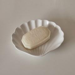 유니크 쉘트레이 / 조개 접시 / 도자기 캔들 받침