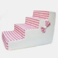 반려동물 두기펫 4단스텝 (핑크)