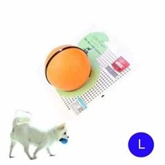 강아지장난감 훈련및 교육용 트레이닝 볼(오렌지 L)