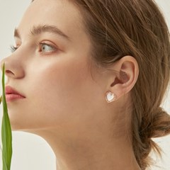 PINK BLUSH EARRING