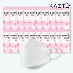 KF94 그린빈 황사 방역용 마스크 100매(5매X20봉)