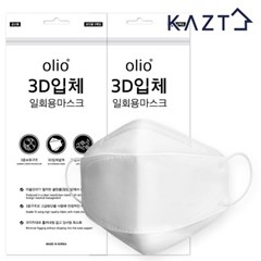 일회용 3D 마스크 10매 화이트(5매X2봉)