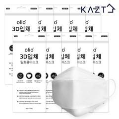 일회용 3D 마스크 50매 화이트(5매X10봉)