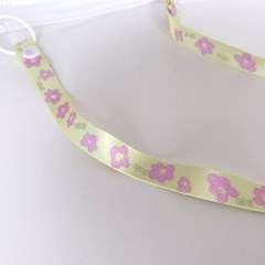 flower mask strap (yellow)
