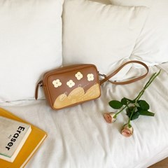 Love letter mini bag - Brown
