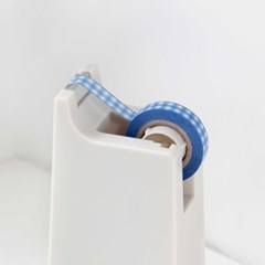Check Ribbon Masking Tape [Classic Blue]