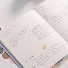 (2021날짜형) 바이풀디자인_생각보관함 슬림 스몰_주간 2021