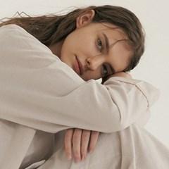 (w) Oatmeal Pajama Set