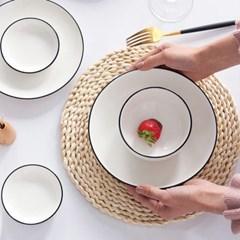 인테리어 캠핑 테이블 식탁매트 플레이팅 천연옥수수 플레이트매트