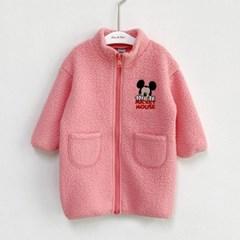 임) [디즈니정품]미키자수 아동 양털자켓-주니어까지