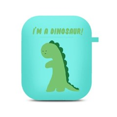 초록공룡 에어팟 케이스