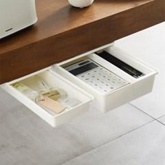 모던 데스크 선반 슬라이딩 보조 서랍 3Size