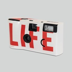 LIFE LOGO SINGLE-USE CAMERA_WHITE