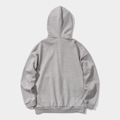 23.65 Standard hoodie zip-up M/GREY