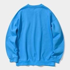 23.65 2LOGO SWEAT SHIRTS BLUE