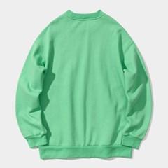 23.65 2LOGO SWEAT SHIRTS GREEN