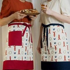[waist apron] full