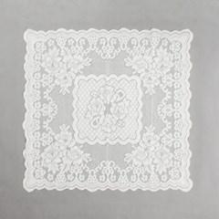 프렌치 레이스 테이블보(로맨틱) (76x76cm)