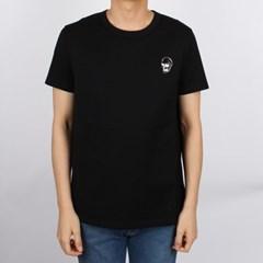 20FW 알렉산더 맥퀸 스컬 포커 그래픽 프린팅 티셔츠 (블랙/남성) 62