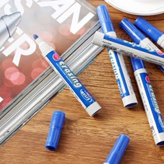 잘 써지는 보드마카펜 10p세트(파랑)