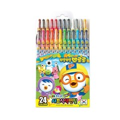 24색 뽀로로 샤프식 색연필