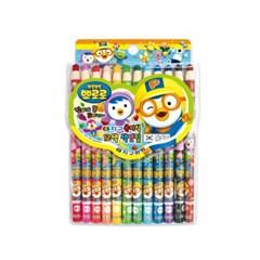 12색 뽀로로 축지식 색연필