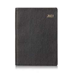 2021년 포켓다이어리 세미미디엄 소프트 블랙 데일리 [L240]