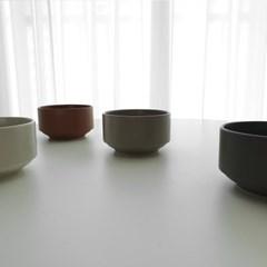 포홈 모던무광 밥공기 그릇 (4color)_(2215148)