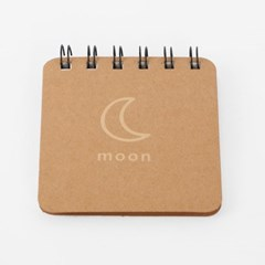 아트스케치 미니 수첩 6p세트(moon)