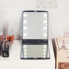 LED 폴딩 미니 거울