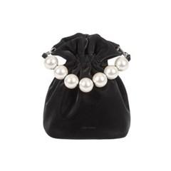 러브참 머메이드 진주 버킷백[Mermaid bucket bag]Black