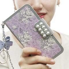 갤럭시S20U (G988)  GardenAge-Violet 지갑 다이어리_(2861582)
