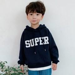 카) super 아동 후드티셔츠-주니어까지