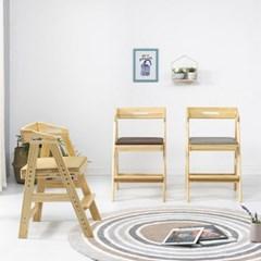 피노키오 원목 어린이 식탁의자 유아 하이체어