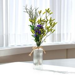 프리저브드 꽃화병 (2color)