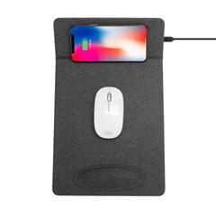 고속 무선충전 마우스패드 손목받침 거치대 MP3501WL