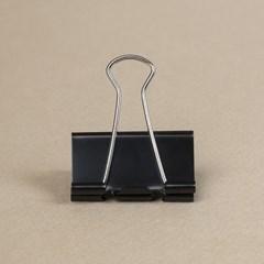 문구존 블랙 더블 클립 12p세트(5cm)