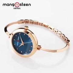 MANGOSTEEN 크로사 MS503C 메탈 여자시계
