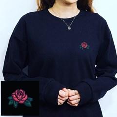 안나슬리 커플 장미 맨투맨 6종 M,L,XL