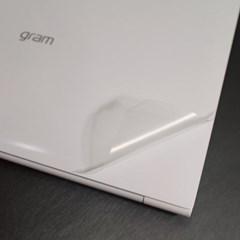 D LG 그램14 14Z950 클리어 노트북 스킨 세트 보호필름