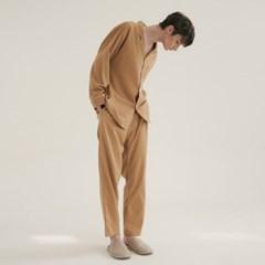 (m) Camel Pajama Set