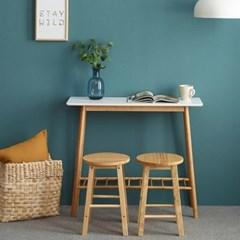 앳홈 원목 홈바 테이블