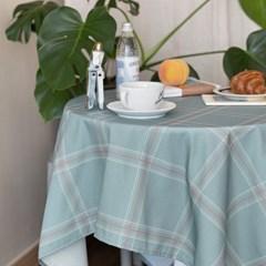 쉐어스쿨민트 식탁보 테이블보 2size 테이블러너